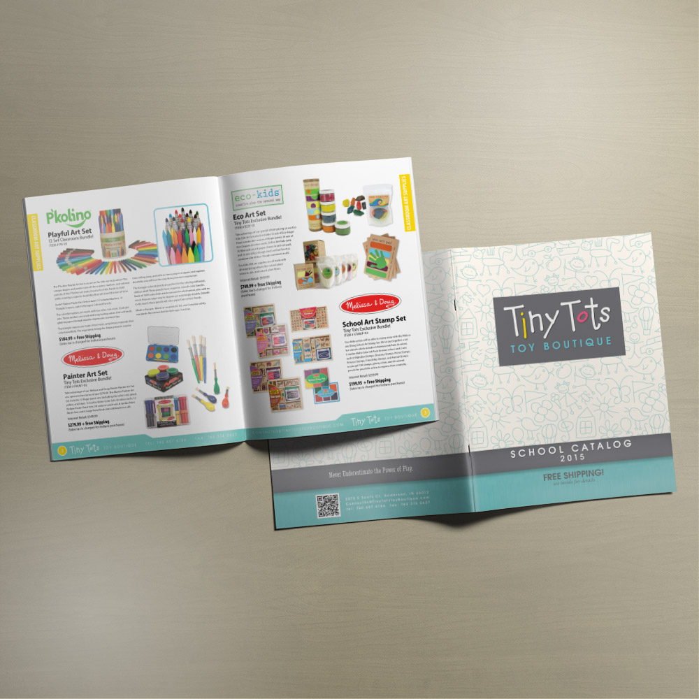 Tiny Tots Toy Boutique 2015 School Catalog