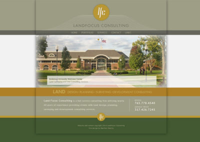 Website Design and Development for LandFocus Consulting