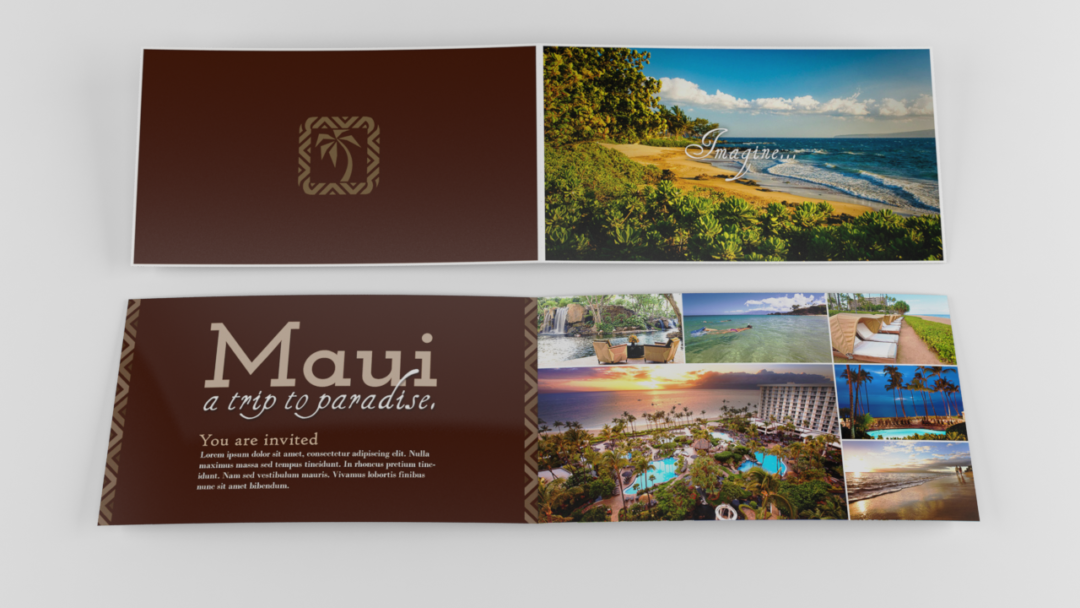 Marketing Collateral for Ground Floor Creative – Maui