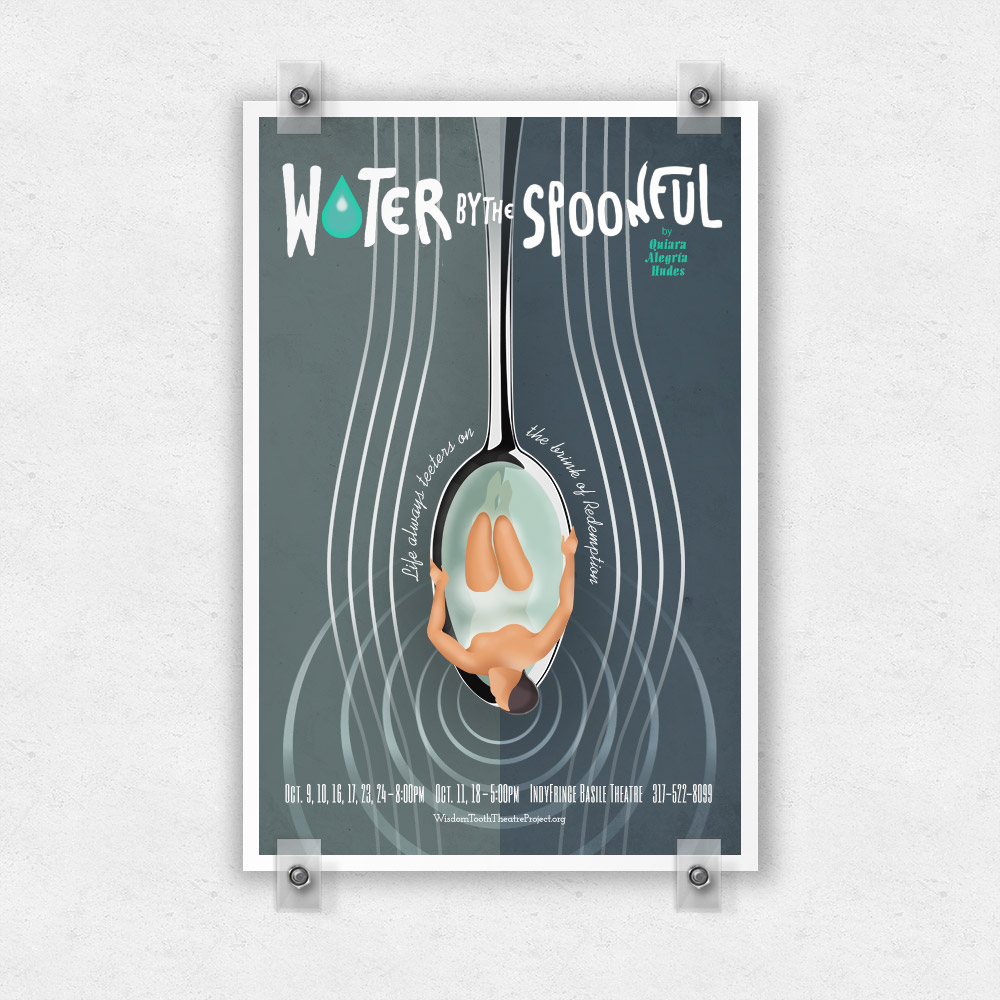Poster Design for Water By the Spoonful