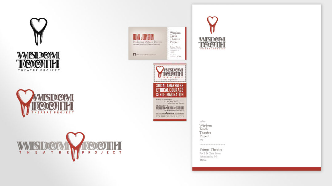 Identity Materials for Wisdom Tooth Theatre Project